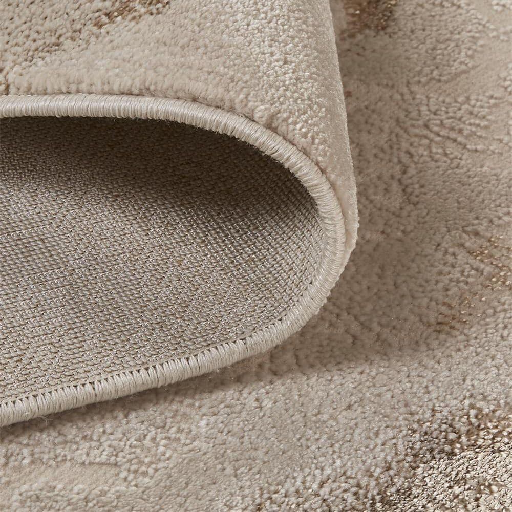 Feizy Rugs Aura 3727F 8' x 11' Beige and Gold Area Rug, , large