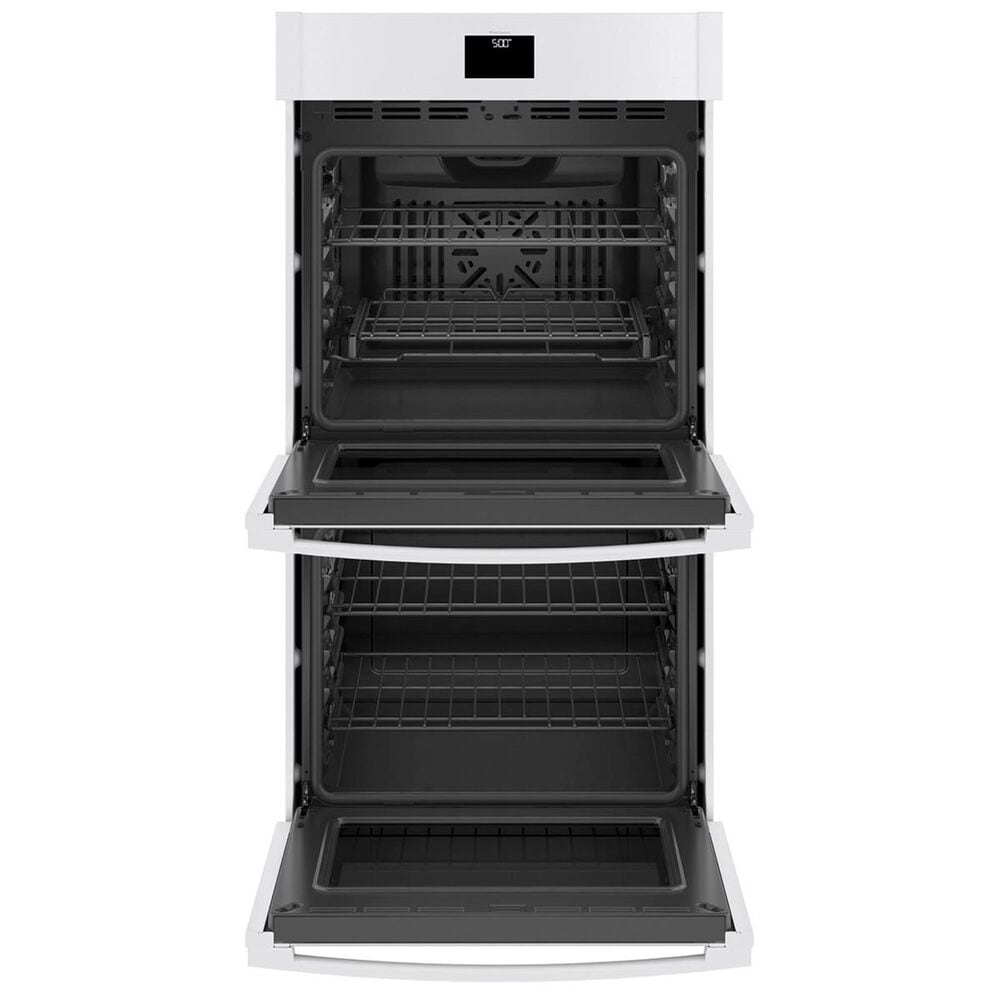 """GE Appliances 27"""" Built-In Double Wall Oven with Convection in White, , large"""