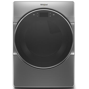 Whirlpool 7.4 Cu. Ft. Gas Dryer with Smart Control in Chrome Shadow, , large