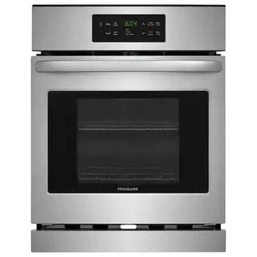 Frigidaire 24'' Single Electric Wall Oven with Even Bake Technology in Stainless Steel, , large