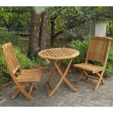 Three Birds Casual Cambridge 3-Piece Patio Set with Folding Side Chairs, , large
