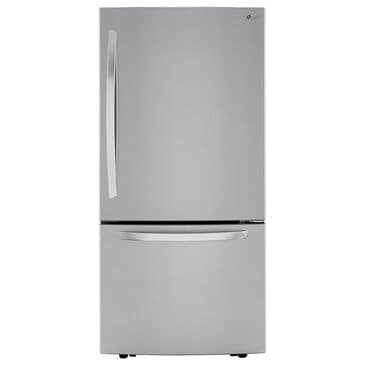 LG 26 Cu. Ft. Bottom-Freezer Refrigerator in Stainless Steel, , large