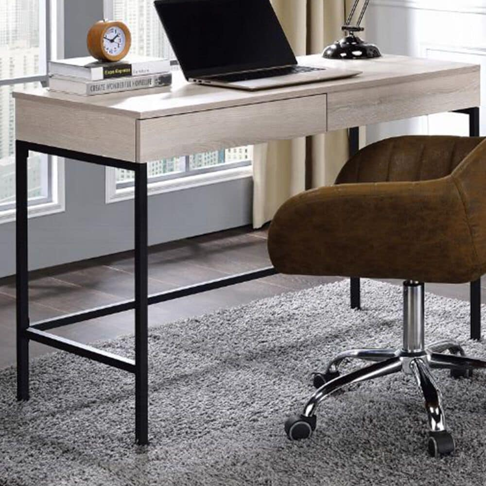 Gunnison Co. Wendral Desk in Natural and Black, , large