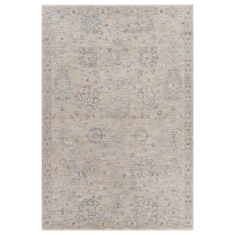 "Surya Avant Garde 6'7"" x 9'6"" Gray, Beige and Denim Area Rug, , large"