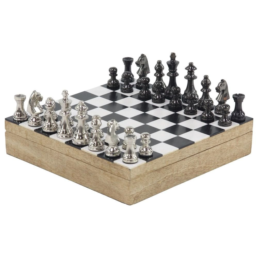 """Maple and Jade 3"""" x 12"""" Chessboard, , large"""