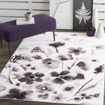 Safavieh Adirondack ADR127L 6' x 9' Ivory and Purple Area Rug, , large