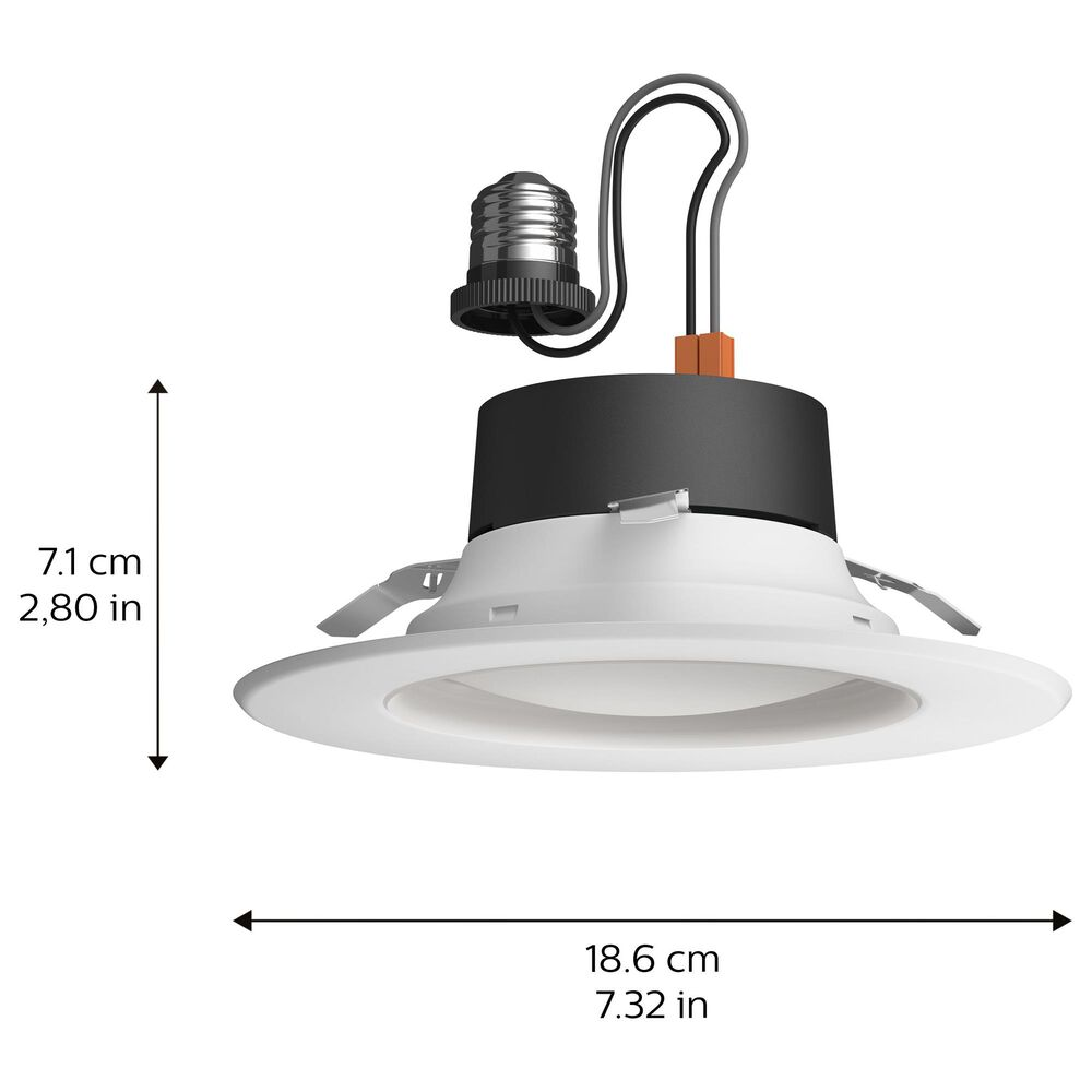 """Philips Hue 5/6"""" White and Color Downlight in White, , large"""
