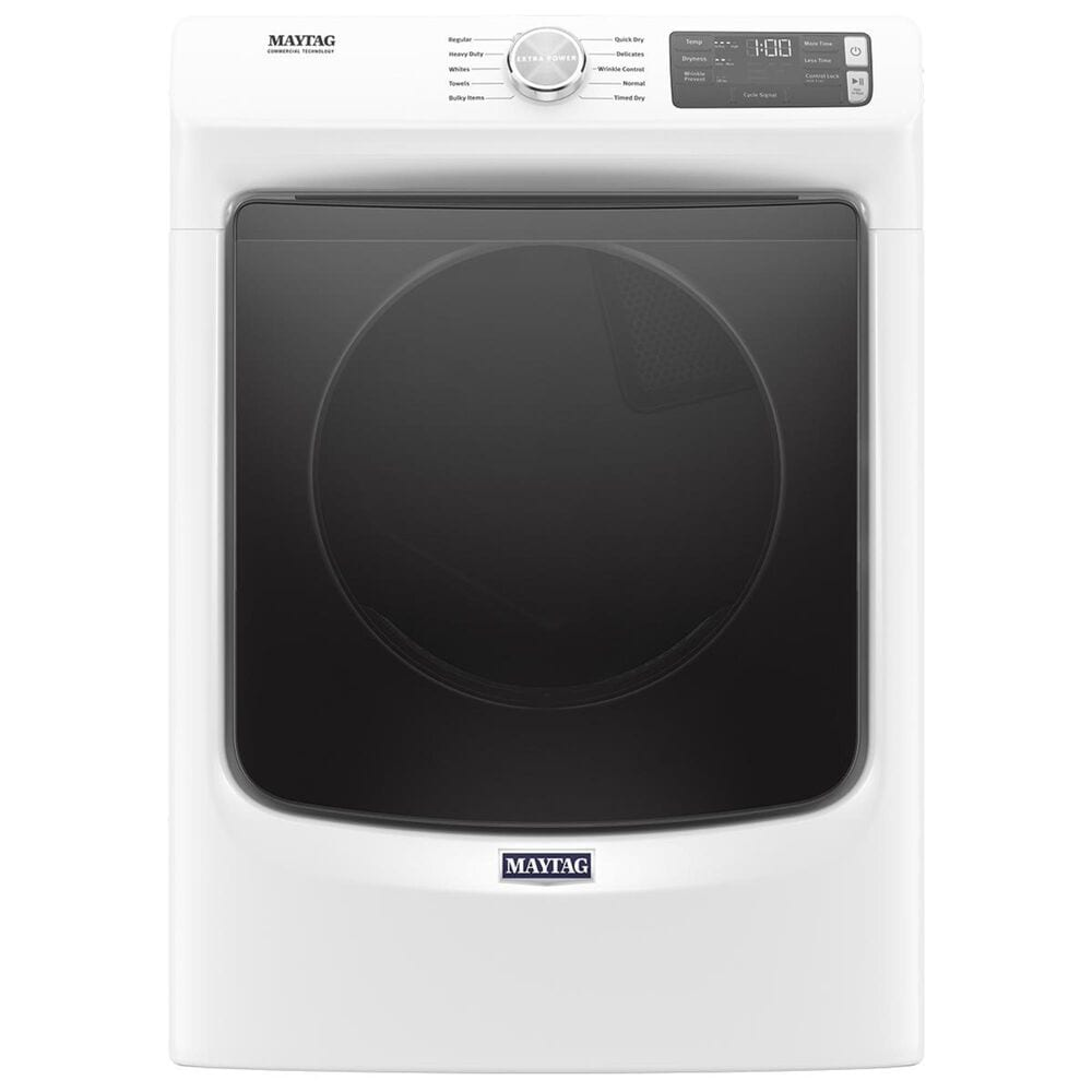 """Maytag 27"""" Electric Dryer in White, , large"""