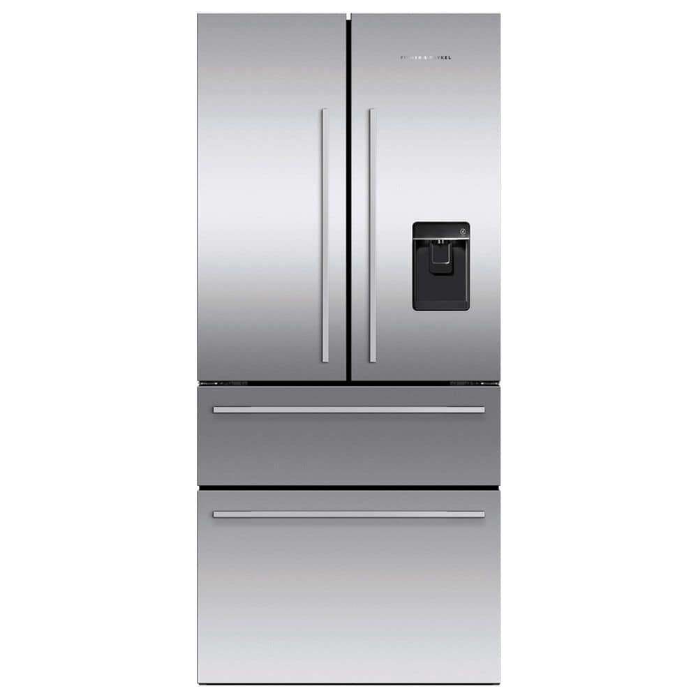 "Fisher and Paykel 32"" 4-Door French Door Refrigerator in Stainless Steel, , large"