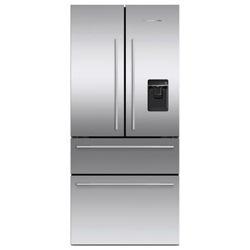 "Fisher and Paykel 32"" 4-Door French Door Refrigerator in Stainless Steel, , large"