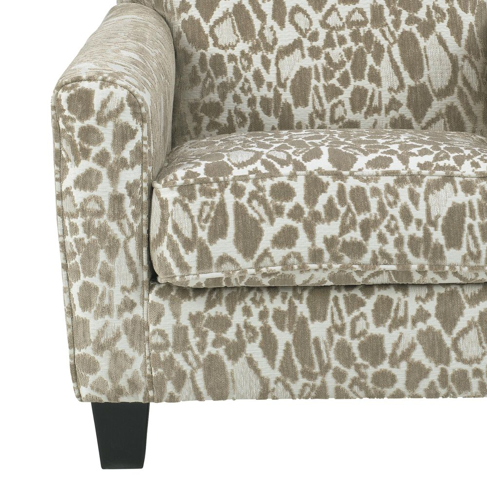 Signature Design by Ashley Dovemont Accent Chair in Cheetah Putty, , large