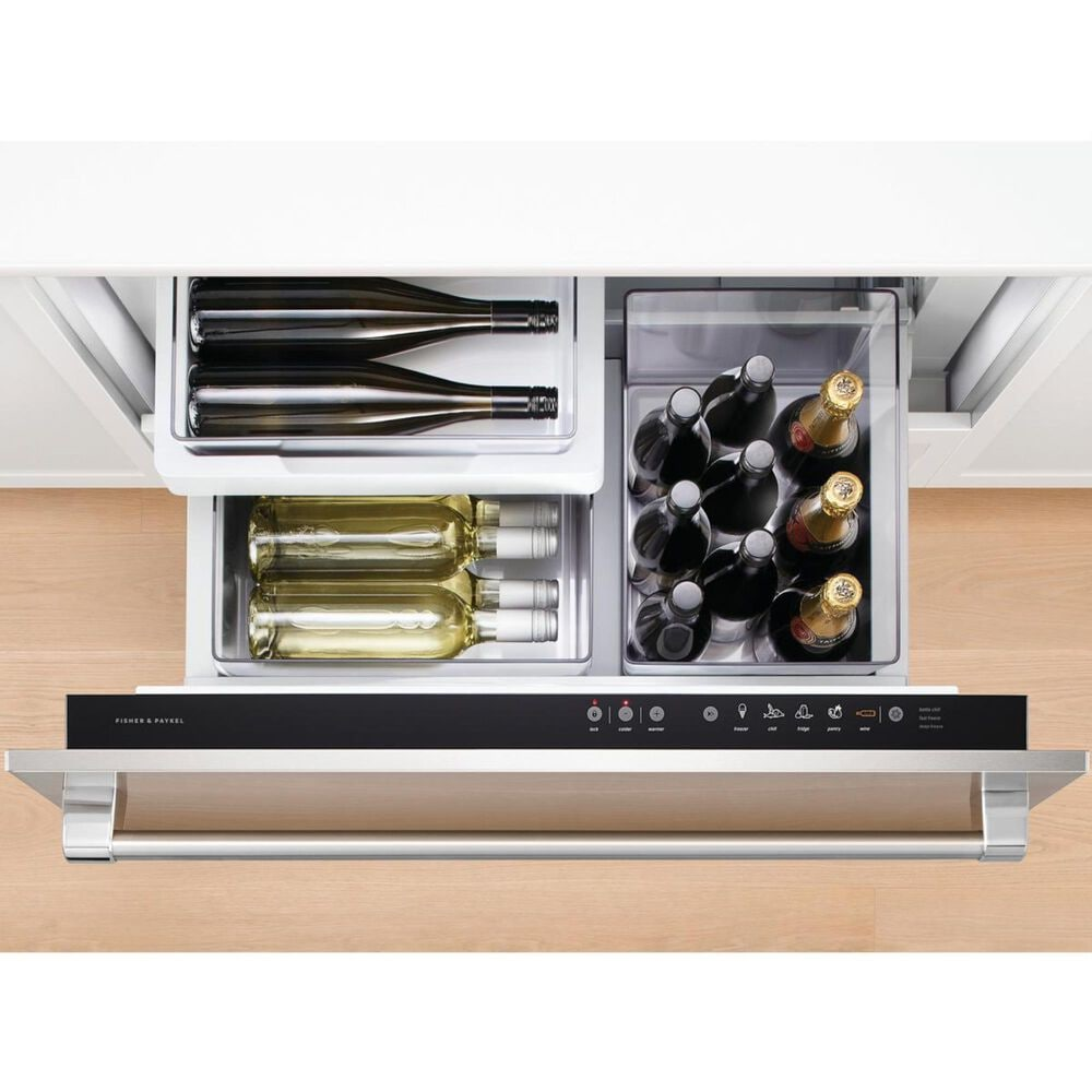 """Fisher and Paykel 34"""" Integrated CoolDrawer Multi-Temperature Refrigerator Drawer, , large"""
