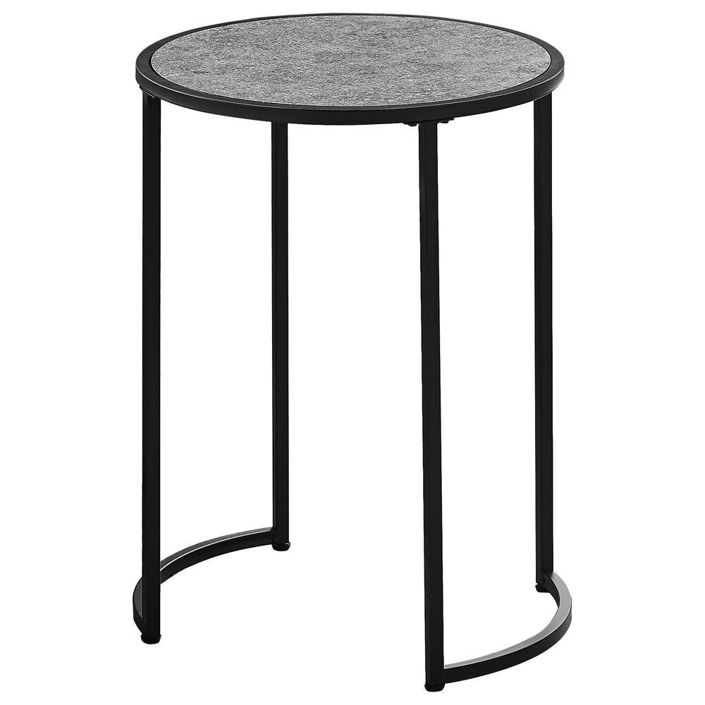 """Monarch Specialties Ht 24"""" Accent Table in Grey, , large"""