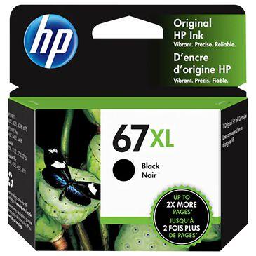HP HP 67XL Black Printer Ink Cartridge, , large