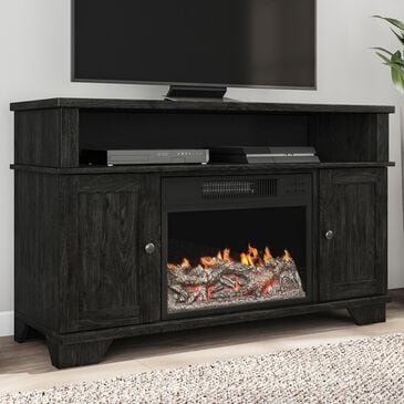 """Timberlake Northwest 47"""" Electric Fireplace TV Stand in Black, , large"""