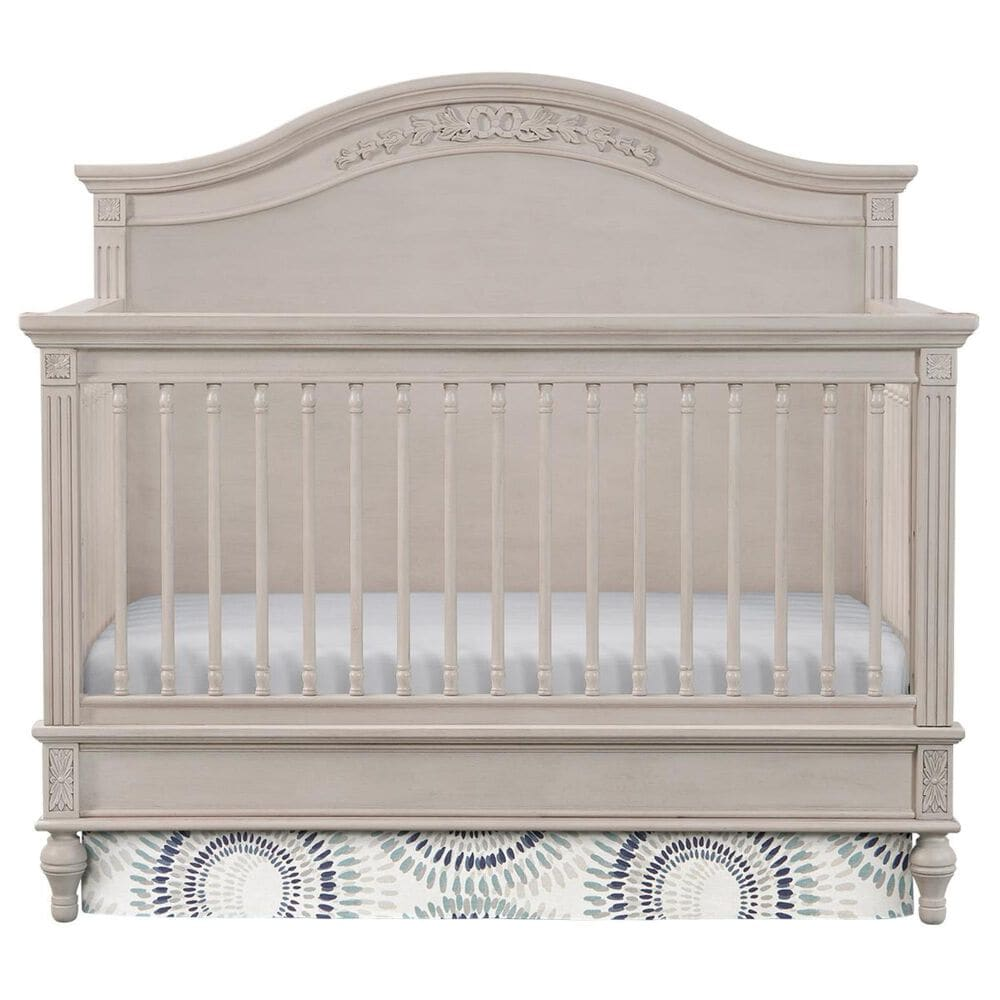 Eastern Shore Viola Crib and Mattress in Lace, , large