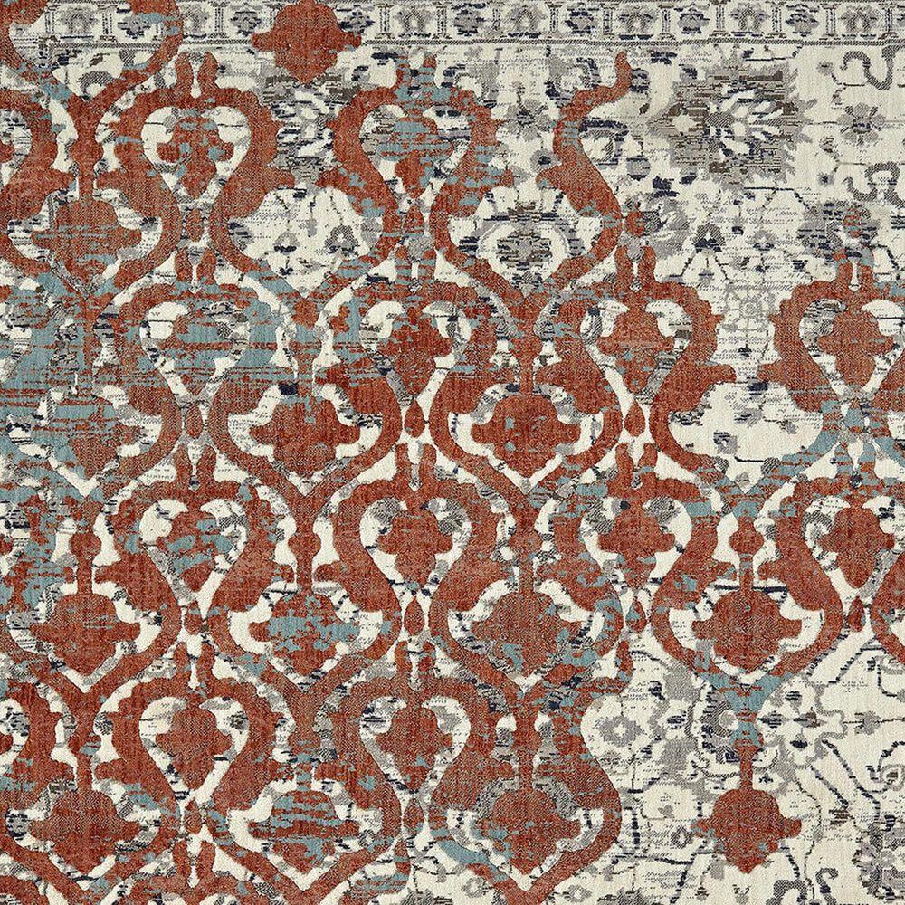 Karastan Soiree Bellini 91968-90116 2' x 3' Grey Area Rug, , large