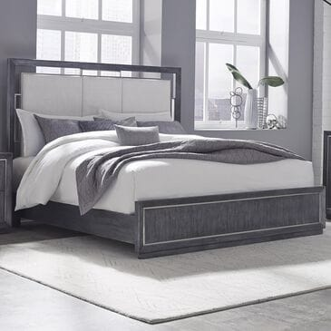 Chapel Hill Echo Queen Bed in Galaxy Black, , large