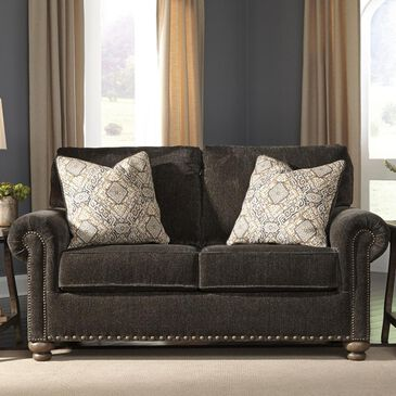 Signature Design by Ashley Stracelen Loveseat in Sable, , large