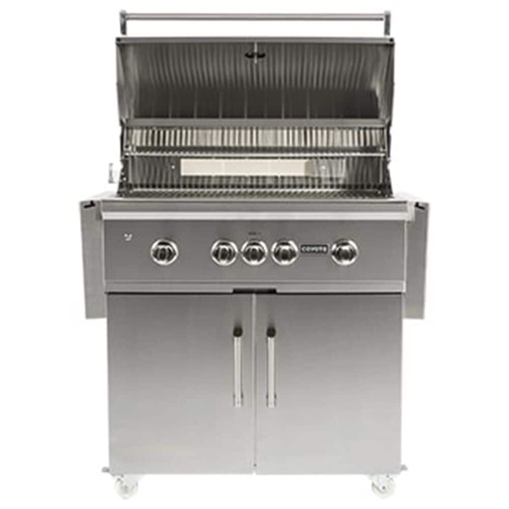 """Coyote Outdoor 36"""" Cart for Gas Grill in Stainless Steel, , large"""