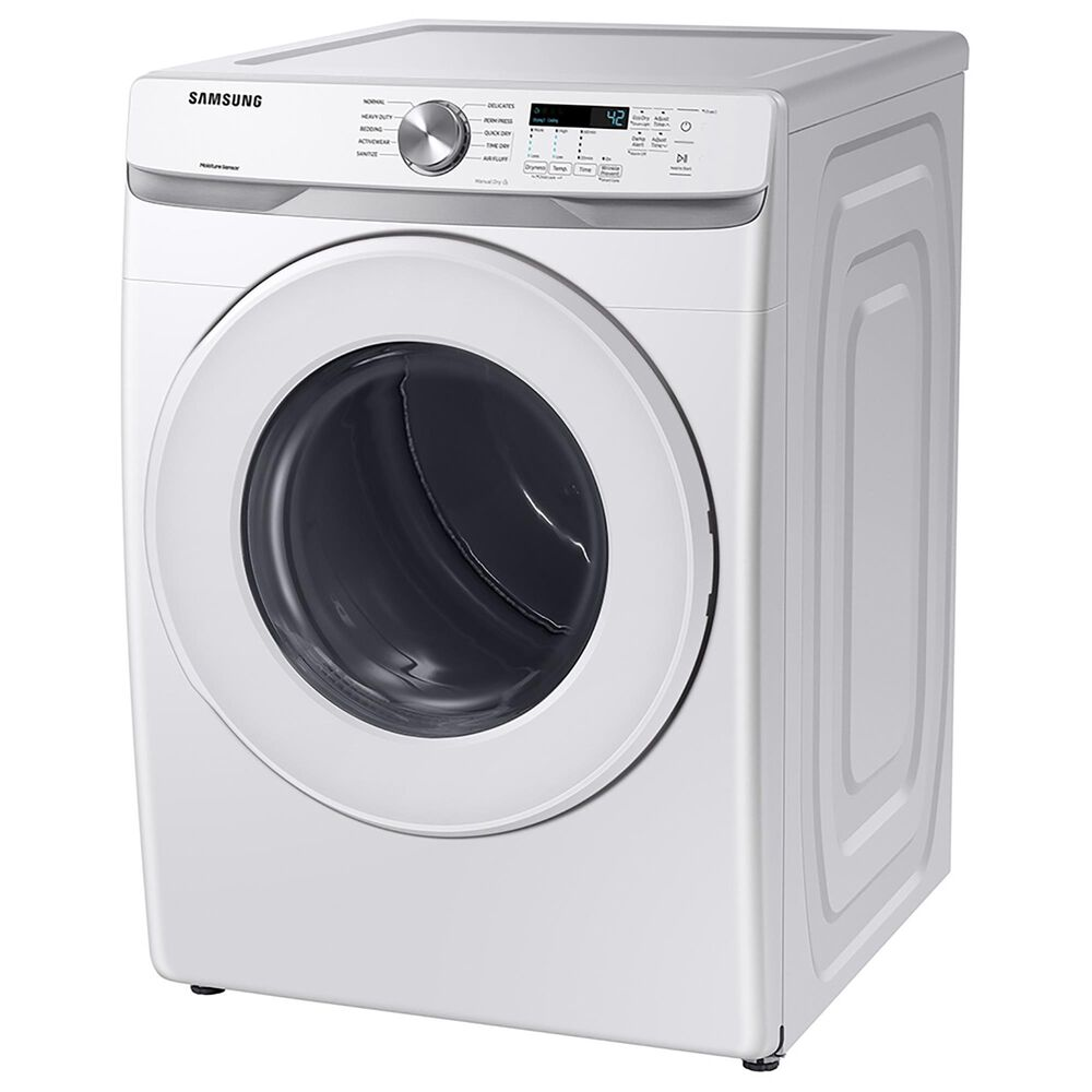 Samsung 7.5 Cu. Ft. Gas Dryer with Sensor Dry and Smart Care in White, , large