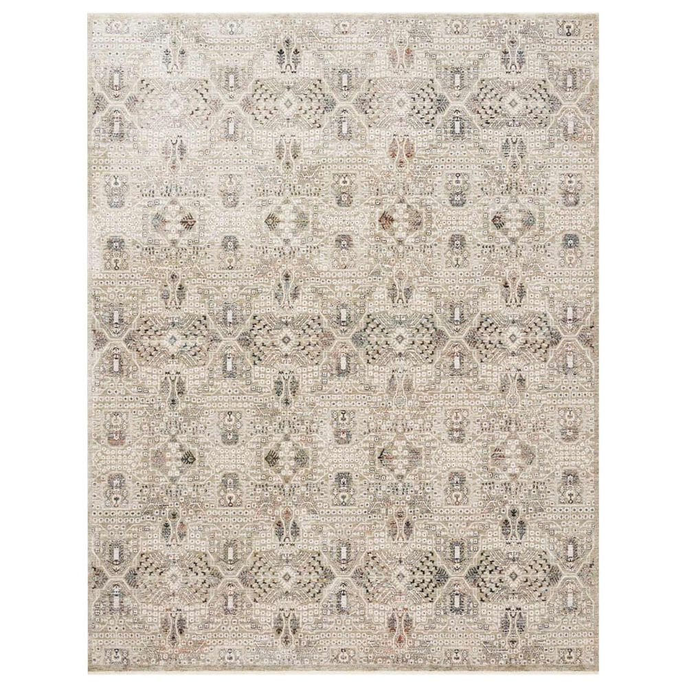 """Loloi Theia THE-06 3'7"""" x 5'2"""" Granite and Ivory Area Rug, , large"""