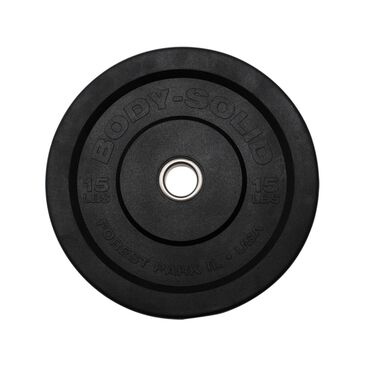 Body Solid 15 lb. Premium Bumper Plate, , large