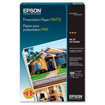 "Epson Presentation Paper Matte (11 x 17"", 100 Sheets), , large"