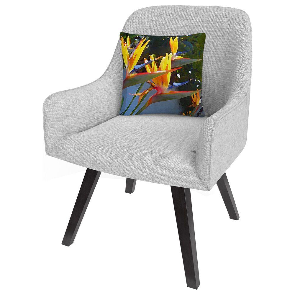 Timberlake Amy Vangsgard 'Bird of Paradise Backlit by Sun' 16 x 16 Decorative Throw Pillow, , large