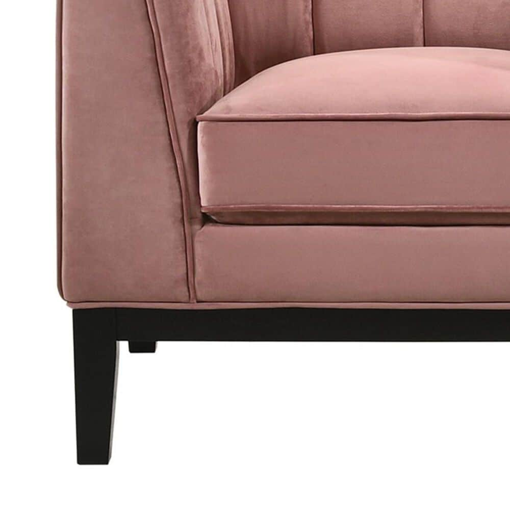 Mayberry Hill Calais Chair in Marine Rose Velvet, , large