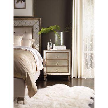 Hooker Furniture Sanctuary Avalon 3 Drawer Nightstand, , large