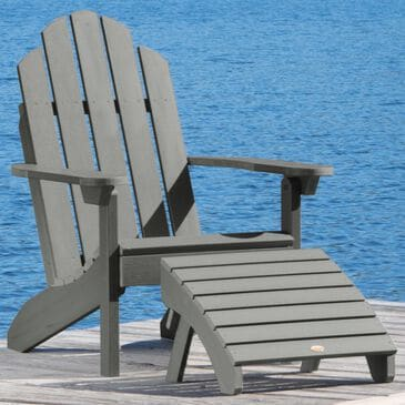 Highwood USA Classic Westport 2-Piece Adirondack Chair Set in Coastal Teak, , large