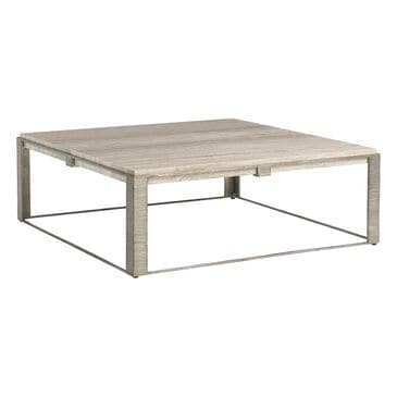 Lexington Furniture Laurel Canyon Stone Canyon Cocktail Table in Silver, , large