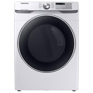 Samsung 7.5 Cu. Ft. Electric Dryer with Steam Sanitize+ and Sensor Dry in White, , large