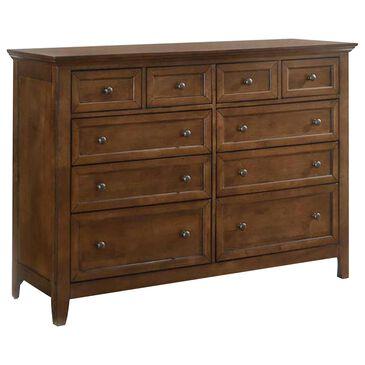 Hawthorne Furniture San Mateo 10 Drawer Dresser in Tuscan, , large