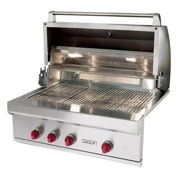 Wolf 36'' Outdoor Liquid Propane Grill in Stainless Steel, , large