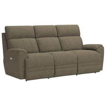 La-Z-Boy Talladega Power Reclining Sofa with Headrest in Smoke, , large