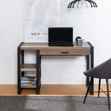 """Walker Edison Urban Blend 48"""" Computer Desk in Ash Grey, , large"""