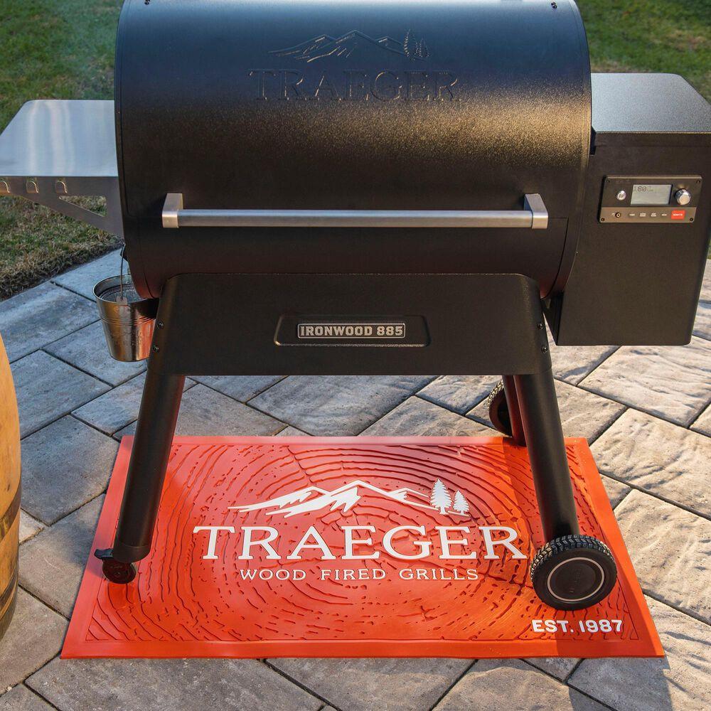 Traeger Grills Grill Mat in Orange, , large