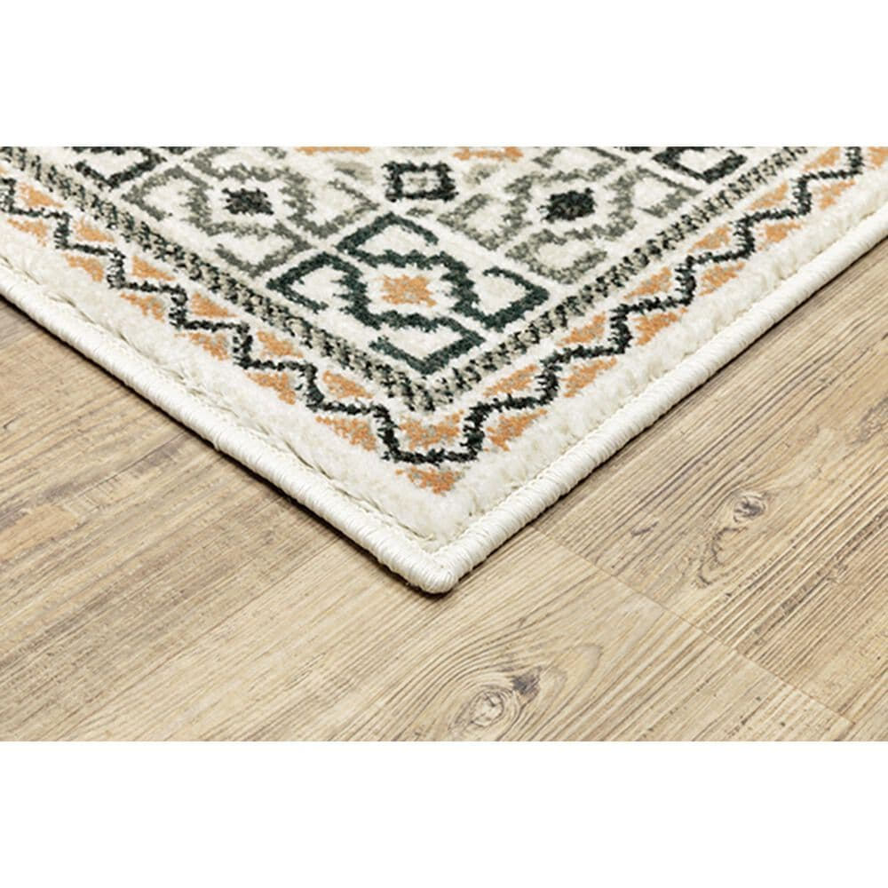 "Oriental Weavers Georgia Southwest 640A0 9'10"" x 12'10"" Ivory Area Rug, , large"
