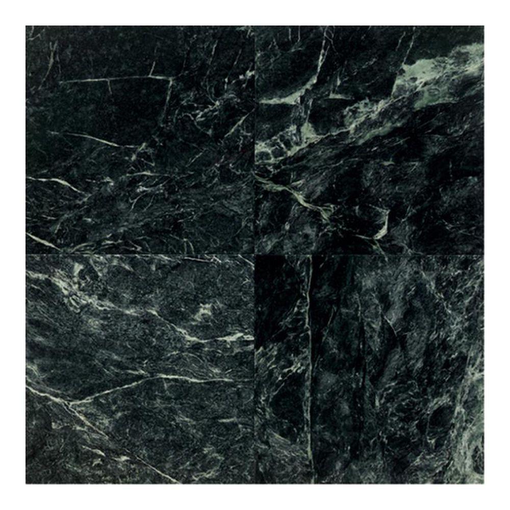 """Dal-Tile Marble Empress Green 12"""" x 12"""" Polished Natural Stone Tile, , large"""