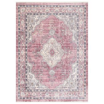 "nuLOOM Ankara KKAN13A 7'10"" x 10'10"" Pink Area Rug, , large"