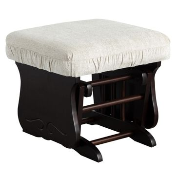 Best Home Furnishings Bedazzle Glide Ottoman in Espresso/Tan, , large