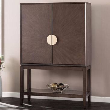Southern Enterprises Bardleigh 2-Door Storage Cabinet in Gray, , large