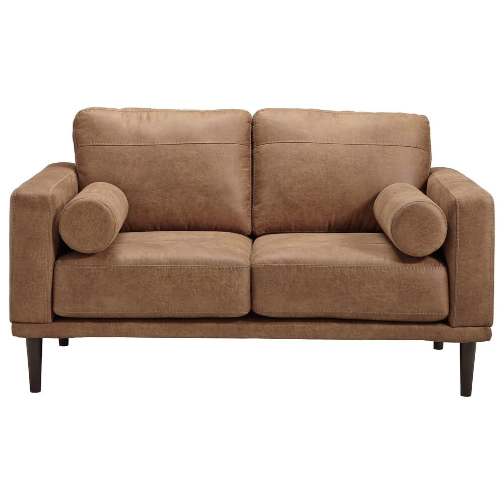 Signature Design by Ashley Arroyo Loveseat in Caramel, , large