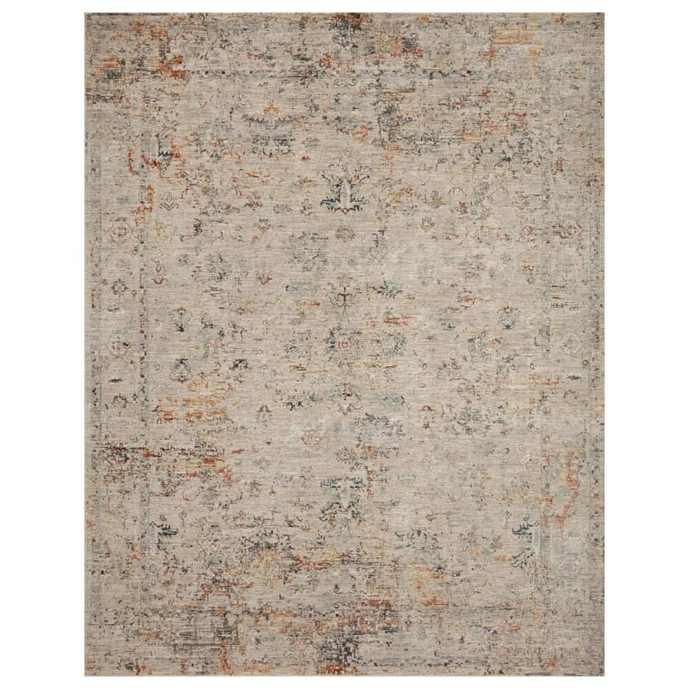 """Loloi Axel 2'6"""" x 8' Silver and Spice Runner, , large"""