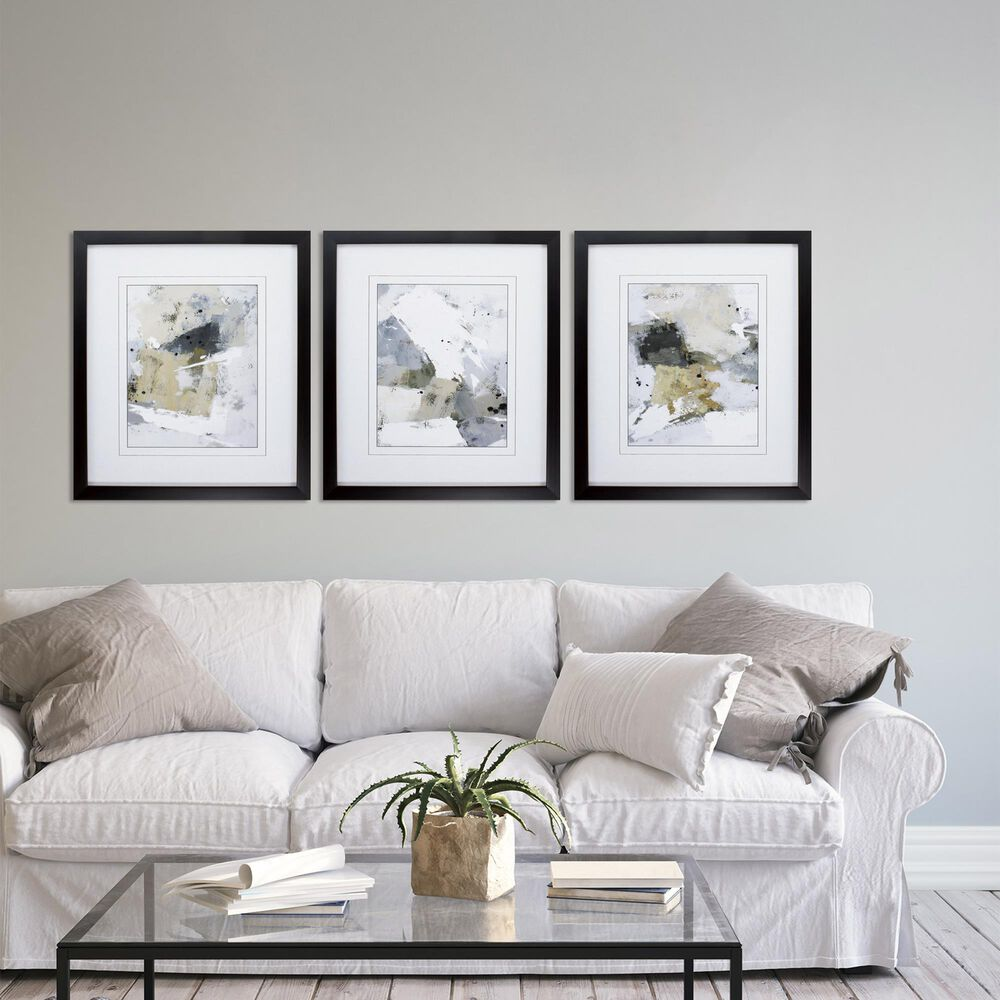 """Propac """"Neutral Scene"""" Wall Art in Gray (Set of 3), , large"""