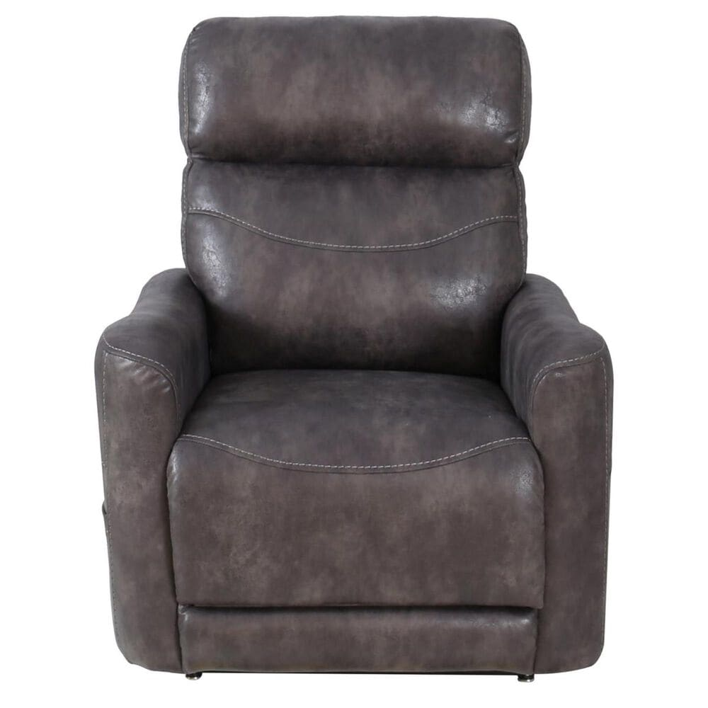 Motion Magic Power Lift Recliner with Power Headrest and Lumbar in Astroglide Gray, , large