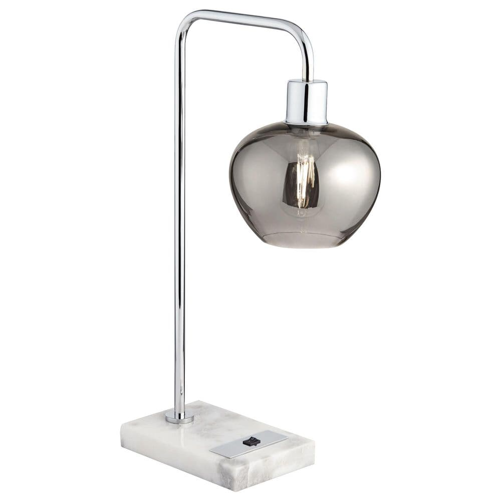 Pacific Coast Lighting Gregory Table Lamp in Chrome, , large