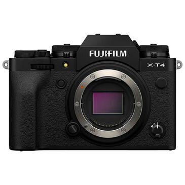 Fujifilm Fujifilm X-T4 Mirrorless Digital Camera Body in Black, , large